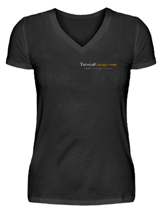 Tutorialgarage-V-Neck-Women
